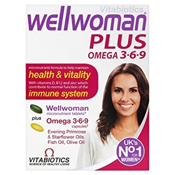 Vitabiotics Wellwoman Multivitamin Plus Omega 3, 6 and 9, 56 Tablets by Vitabiotics