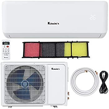 klimaire 18 000 btu 16 4 seer ductless mini. Black Bedroom Furniture Sets. Home Design Ideas