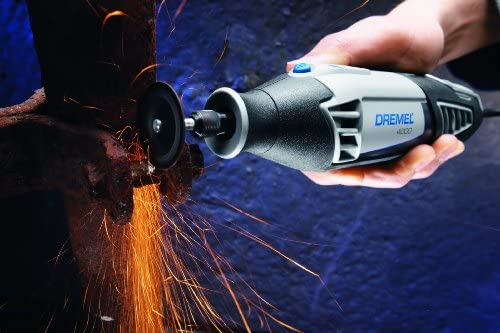 Dremel 4000-2 30 High Performance Rotary Tool Kit- 2 Attachments 30 Accessories- Grinder, Sander, Polisher, Router, and Engraver- Perfect for Routing, Metal Cutting, Wood Carving, and Polishing