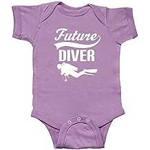 inktastic Future Diver Scuba Diving Infant Creeper