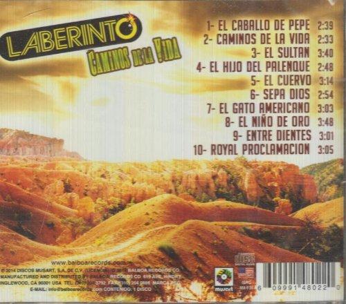 Laberinto (Caminos De La Vida Sony-888430643321) CD