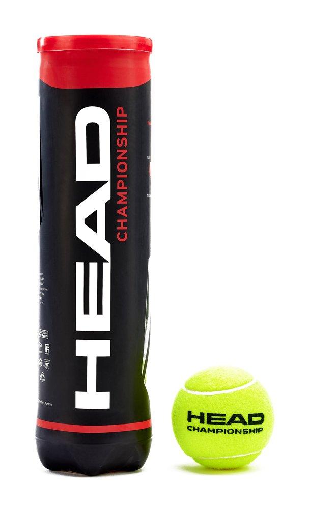 3690e9544229b2 Head Championship, 4 Palle da Tennis, Colore: Giallo: Amazon.it: Sport e  tempo libero
