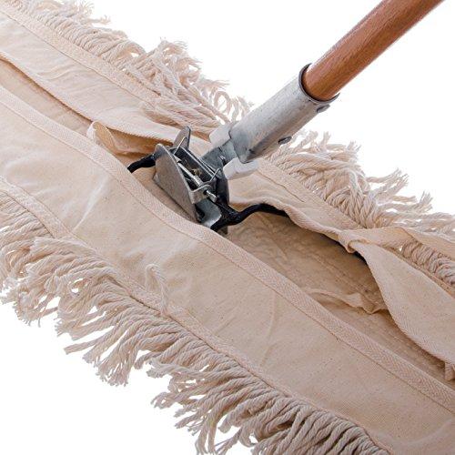 Carlisle 4585000 Wood Dust Mop Handle, 15/16'' Diameter x 60'' Length (Pack of 12) by Carlisle (Image #3)