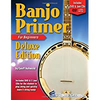 Banjo Primer Book for Beginners Deluxe Edition with DVD and 2 Jam CDs