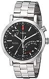 Timex Unisex TW2P99000 Metropolitan+ Silver-Tone Stainless Steel Bracelet Watch