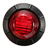 Excellent 8 Pieces of DC12V 3LED Red Round Side Marker LED Lights Indicator Lamps