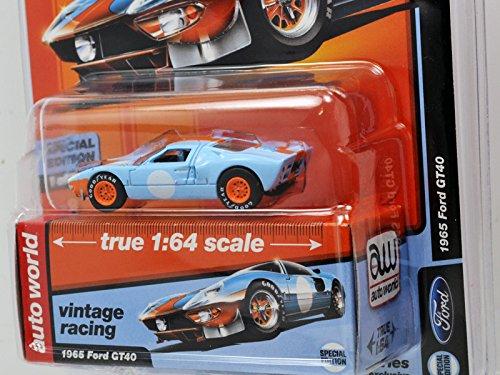 amazon auto world 1 64scale mijo exclusive 1965 ford gt40 gulf