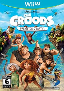 The Croods: Prehistoric Party! - Nintendo Wii U