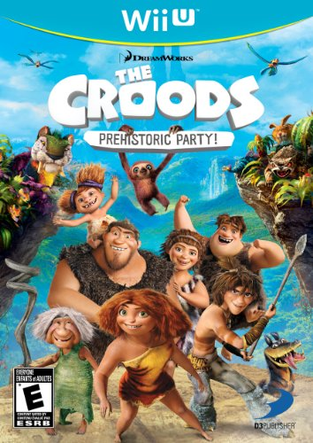 The Croods: Prehistoric Party! - Nintendo Wii U by D3 Publisher