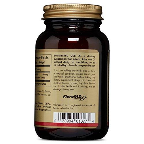 Solgar Lutein 40 mg, 30 Softgels by Solgar (Image #4)
