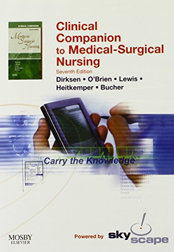 Clinical Companion to Medical Surgical Nursing - CD-ROM PDA Software