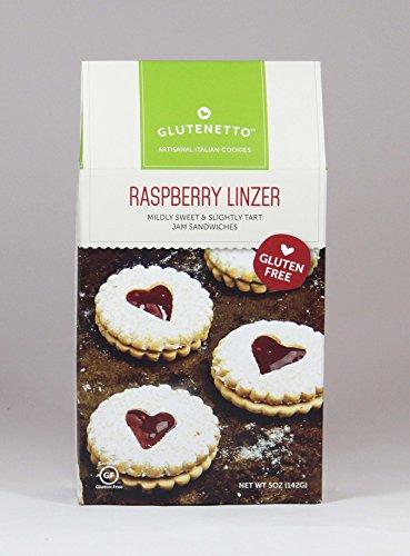 Gluten Free Raspberry Linzer Cookies 6 pk / 5oz
