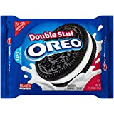 Oreo Double Stuf Chocolate Sandwich Cookies, 15.35 Ounce