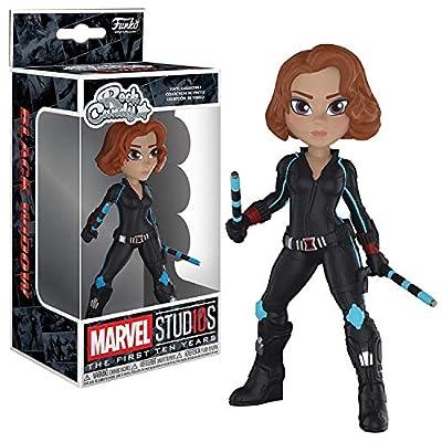 Funko Rock Candy: Marvel Studios 10 - Black Widow Collectible Figure, Multicolor: Toys & Games