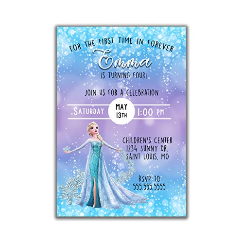 Frozen | Birthday Party Invitation | -