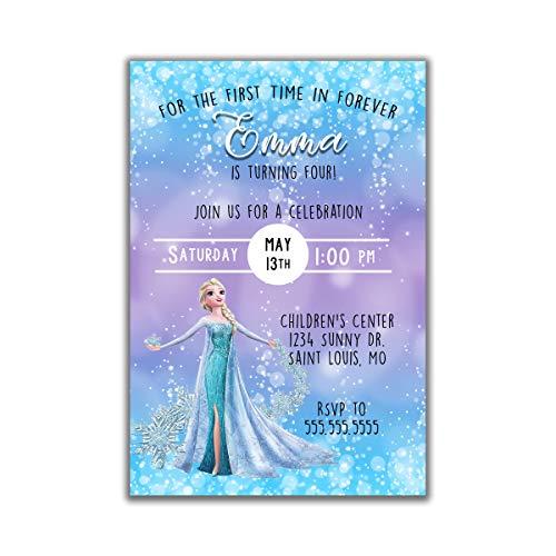 Frozen | Birthday Party Invitation | Personalized ()