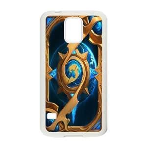 Game World of Warcraft Alliance Logo Customizable For Samsung Galaxy S5 AKG245166