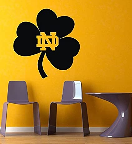 Amazoncom NCAA Notre Dame Fighting Irish Gym Sports Logo Wall