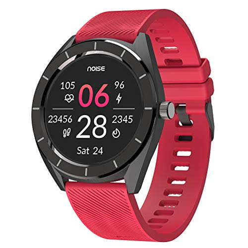 Noise NoiseFit Endure Smart Watch with 100+ Cloud Based Watch Faces & 20 Day Battery Life with SpO2 (Racing Red)