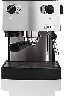 Briel ES 75 A Versatile - Máquina de café, color negro y plateado