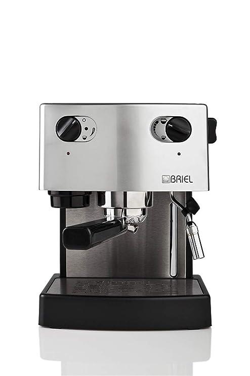 Briel ES 75 A Versatile - Máquina de café, color negro y plateado ...