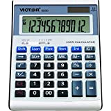 Victor 6500 12 Digit Executive Desktop Financial Calculator with Loan Wizard
