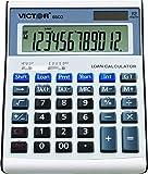 Victor 6500 12 Digit Executive Desktop Financial Calculator with Loan Wizard