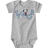 Body Tigor T. Tigre Cinza Bebê Menino - Tam RN