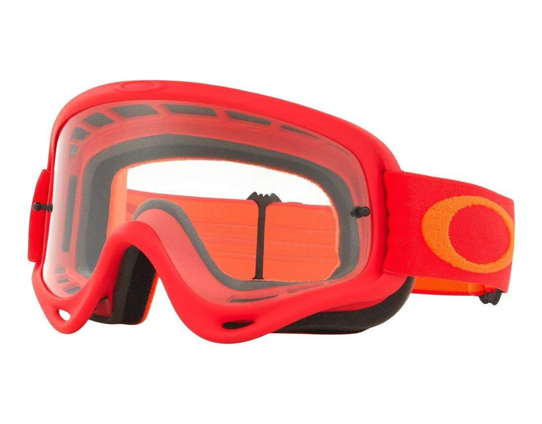 Oakley Unisex-Adult Goggles (Red, Medium)