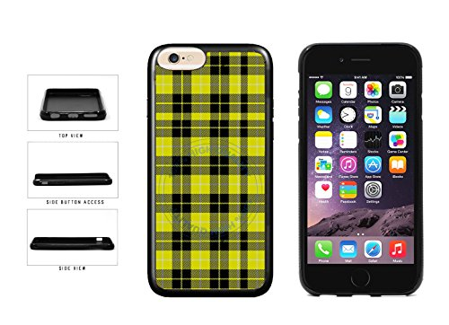 BleuReign(TM) Yellow Lumberjack Buffalo Plaid TPU Rubber SILICONE Phone Case Back Cover For Apple iPhone 6 6s (4.7 Inches Screen)