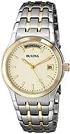 Bulova Men's 98C60 Two-Tone Bracelet Watch