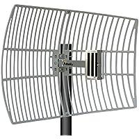 Altelix 2.4GHz 21dBi WiFi Grid Antenna High Gain Outdoor Parabolic