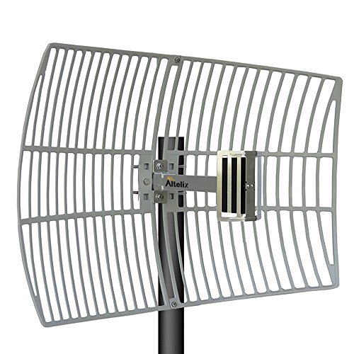 Altelix 2.4GHz 21dBi WiFi Grid Antenna High Gain Outdoor Parabolic by Altelix