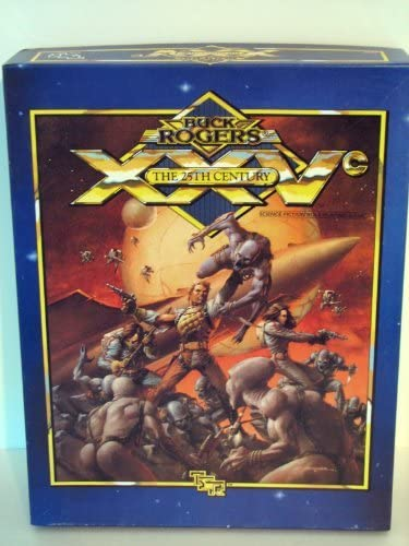 Buck Rogers The 25th Century Boxed Science Fiction Game