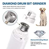 URXTRAL Dog Nail Grinder 3-Speed Pet Nail Trimmer