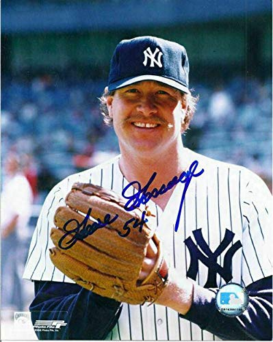 (Goose Gossage Autographed Picture - 8x10 Posed 11425 - Autographed MLB Photos)
