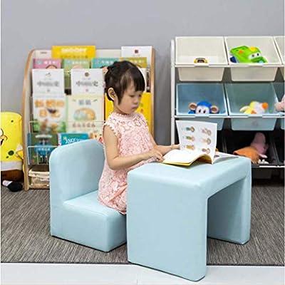 Amazon.com: LLYY-Sillones para niños Mini Sofá 2 en 1 Silla ...