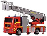 "Dickie Toys 12"" Light and Sound SOS Fire Engine Vehicle (With Working Pump)"