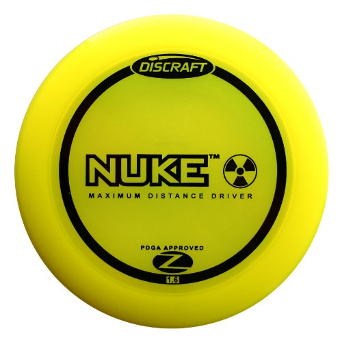 Discraft Nuke Elite Z Golf Disc, 173-174 Grams