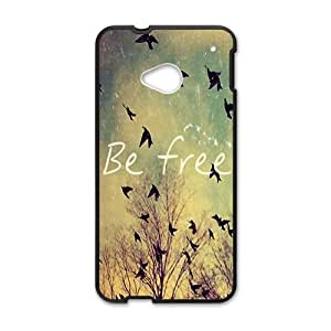 Happy Be free Phone Case for HTC One M7