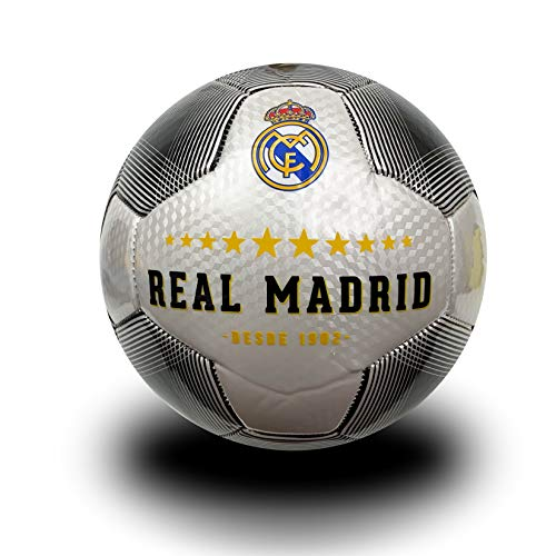 (Real Madrid Size 4 Ball, Official Licensed Soccer Ball #4)