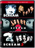Scream / Scream 2 / Scream 3 (Triple Feature 3-DVD Set)