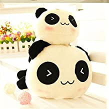 1 Pc Kawaii Plush Doll Toy Animal Giant Panda Pillow Stuffed Bolster Gift 45cm