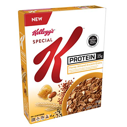 Kellogg's Special K Probiotics, Breakfast Cereal, Protein Honey Almond Ancient Grains