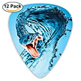 Water Snake Classic Guitar Pick (12 Pack) for Electric Guita Bass