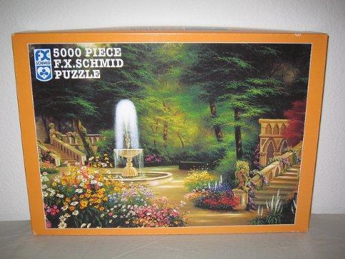 F X Schmid 5000 Piece Jig Saw Puzzle GOTHIC GARDEN 62