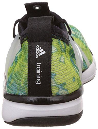 adidas Core Grace, Chaussures de Running Entrainement Femme Multicolore (Halo/Core Black/Shock Green)