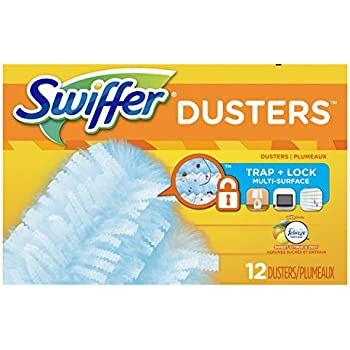 Swiffer 180 Dusters Refills with Febreze Sweet Citrus & Zest Scent, 12 Count