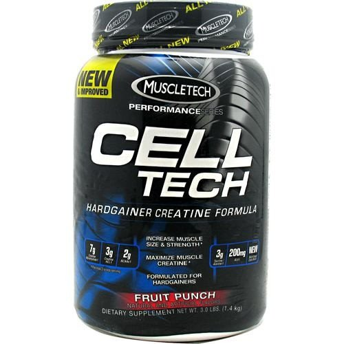 Muscletech performance series cell tech lifestyle updated - Cell tech hardgainer creatine formula ...