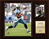 NFL Chris Johnson Tennessee Titans Player Plaque